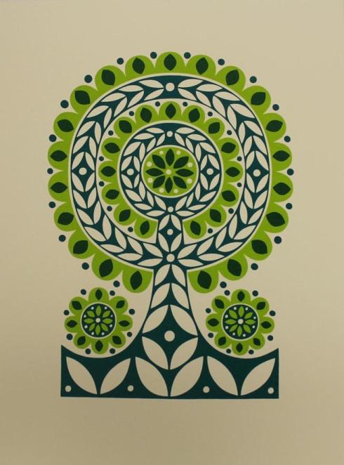 Karoline Rerrie - Green Spring Flower Tree 150dpi