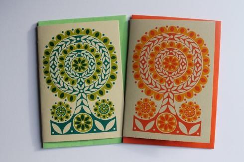 Karoline Rerrie - Spring Flower Tree Cards